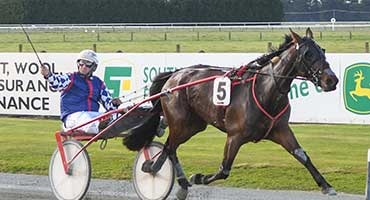 TROT WIN SPECIAL FOR COX AND HOFFMAN