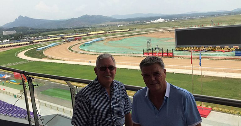 KIWIS SETTING UP EXCITING CHINESE RACECOURSE
