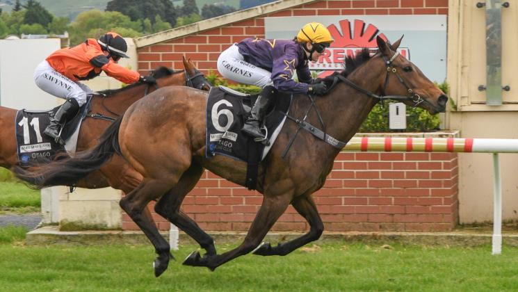 Kennedy scores treble on home track